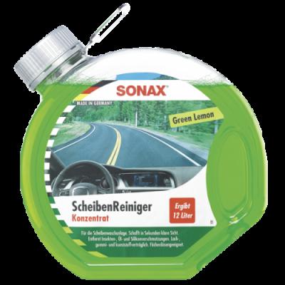SONAX Letná kvapalina pre ostrekovače koncentrát 1:3 Green Lemon 3L