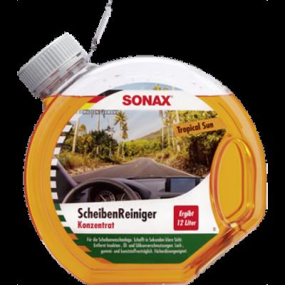 SONAX Letná kvapalina pre ostrekovače koncentrát 1:3 TROPICAL 3L