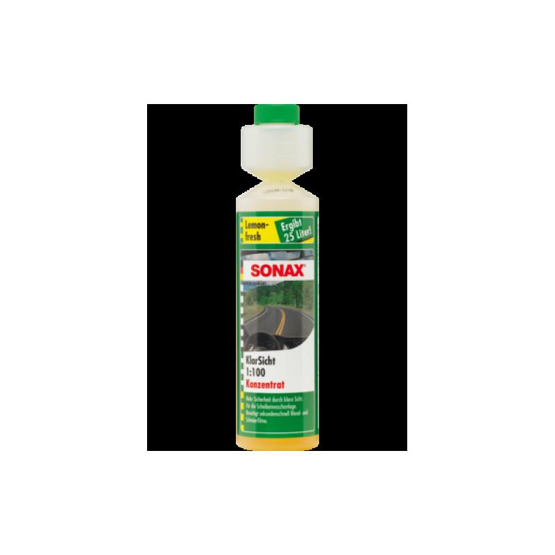 SONAX Letná náplň do ostrekovačov koncentrát 1:100 - citrón 250ml