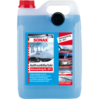 SONAX Zimná kvapalina do ostrekovačov -20°C 5L